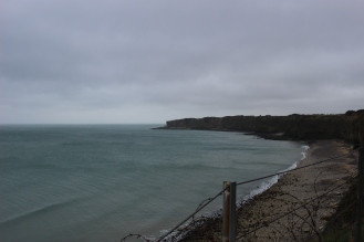 View from Pointe du Hoc